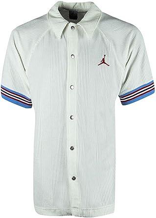 c341d56bc Nike Air Jordan 'Jumpman' Velvet Signature 23 Button Up Shirt (Small ...