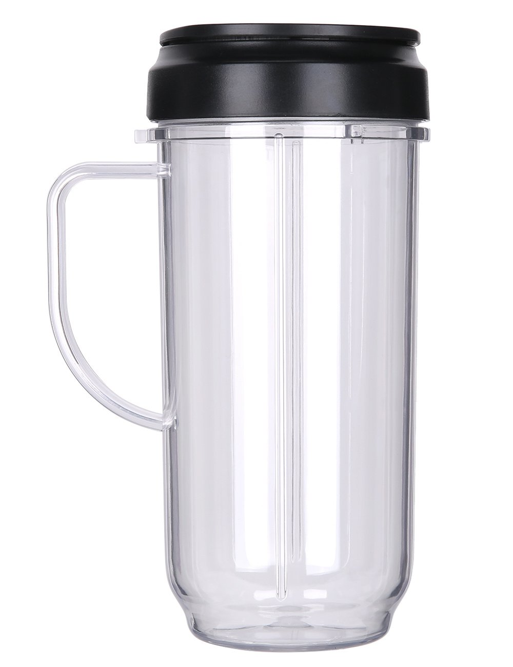 QT Replacement Part Flip Top Lid + 22oz Tall cup For 250w Magic Bullet Mugs & Cups Blender QueenTrade