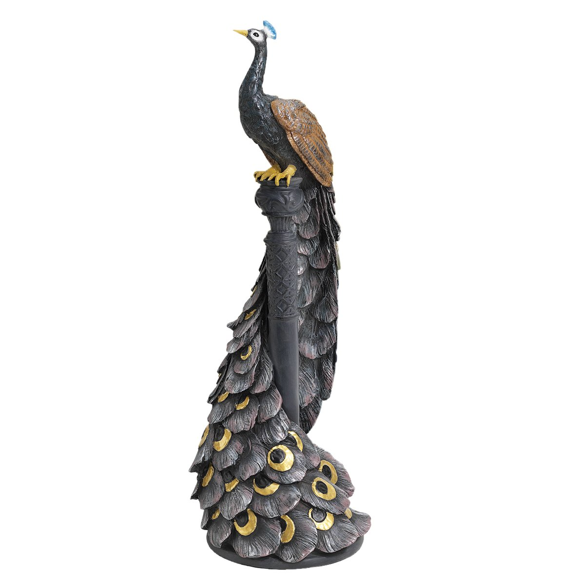 Design Toscano The Peacock's Garden View Statue