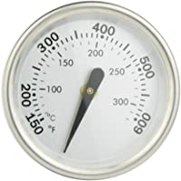 """Onlyfire Professional BBQ Charcoal Smoker Gas Grill Dia 2"""" Thermometer (1-pack) Temperature Gauge Fits for Weber Grill Models Q 120, 220, 300, 320 and Others"""