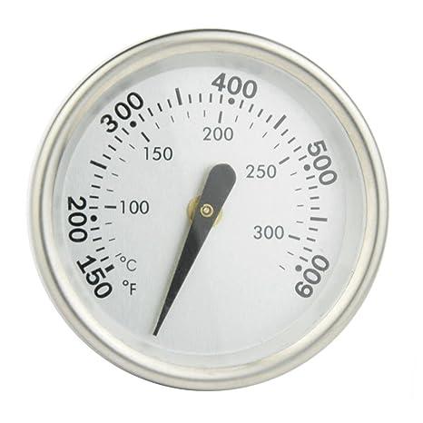 onlyfire barbacoa de carbón fumador Gas Grill termómetro indicador de la temperatura, válvula de retención