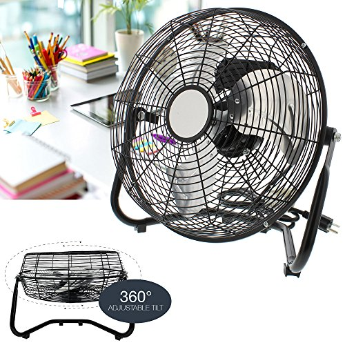 velocity floor cradle fan adjustable