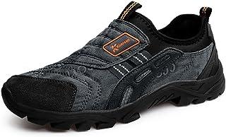 Uomo Scarpe da Ginnastica Slip on Loafers da Fitness Jogging Sneakers Basse Calzature Sportive Mocassino Nero Marrone Verde Grigio 39-44 Kotzeb