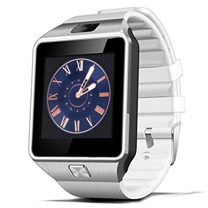 Padgene DZ09 Bluetooth Smart Watch with Camera for Samsung S5 / Note 2/3 / 4, Nexus 6, HTC, Sony and Other Android Smartphones, White