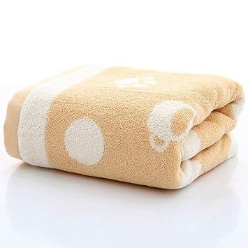 ZYJY Toalla de baño, algodón Suave Absorbente 70 * 140, una Variedad de Colores para Elegir,C: Amazon.es: Hogar