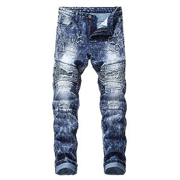 Jeans de hombre Vaqueros slim fit para hombre Pantalones ...