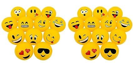 Amazon.com: Novedad tesoros Conjunto de 24 populares Emoji ...
