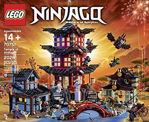 Lego Ninjago Temple Of Airjitzu 70751 Retro Bit Blocks