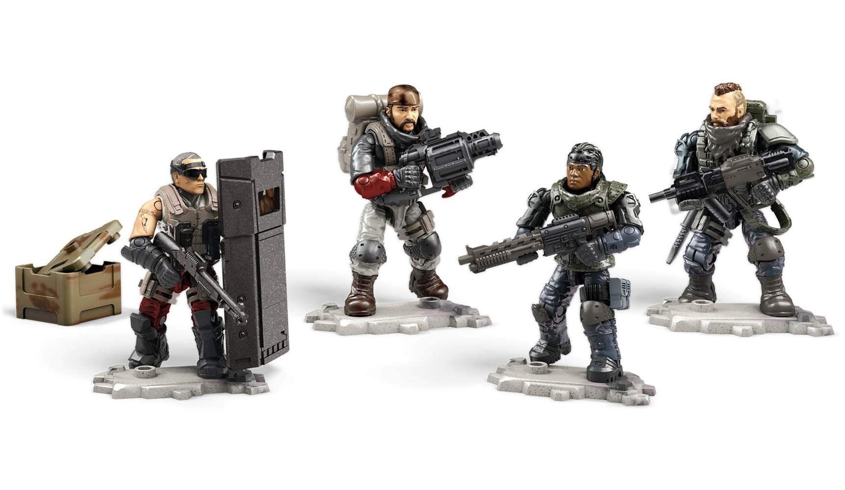 Mega Construx Call of Duty Black Ops 4 Troop Pack
