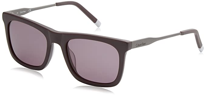 Calvin Klein Wrap Eye, Gafas de Sol para Hombre, Matte ...