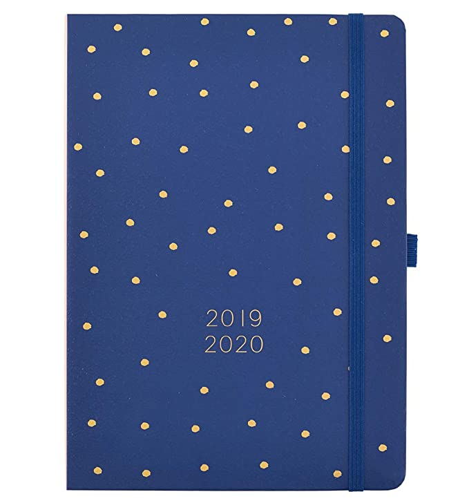 Busy B 2019-20 Mid-Year Day a Page Diary with Year Planner