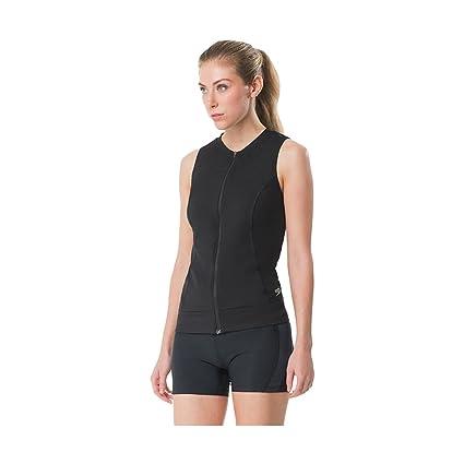 20e2e5cade Speedo Women's Zip Front Tankini, Speedo Black, Size 14: Amazon.in ...