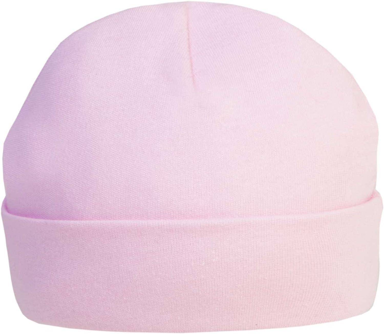 Soft Touch Baby Boys Girls Cotton Plain Hat Cap New Born H3