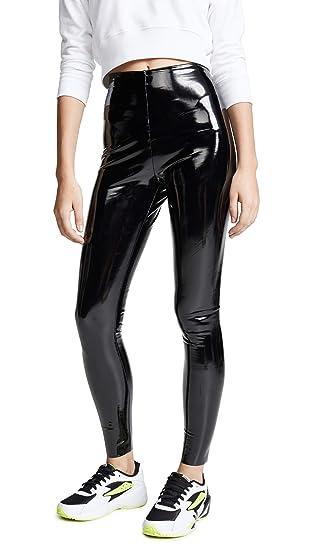 d2e4ace4076 commando Women's Faux Patent Leather Perfect Control Leggings