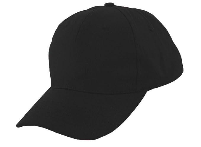 Romens Ltd Niña Niño Gorra De Beisbol Protección Solar Kids Niñas Sombrero (Black)