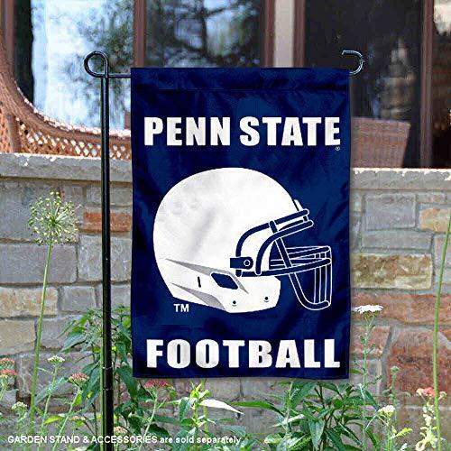 (Penn State Football Helmet Garden Flag and Yard Banner)
