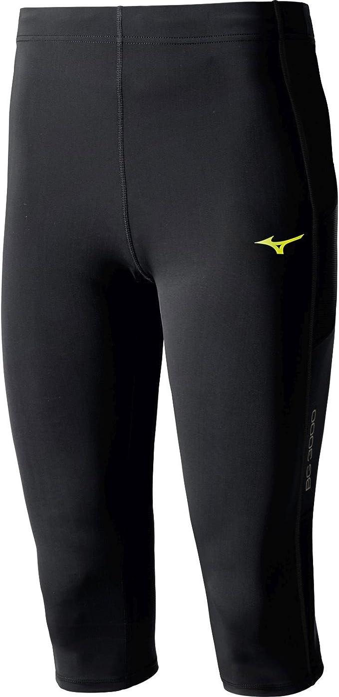 Mizuno Mens BG3000 Mid Tights Bottoms Pants Trousers Black Sports Running Gym