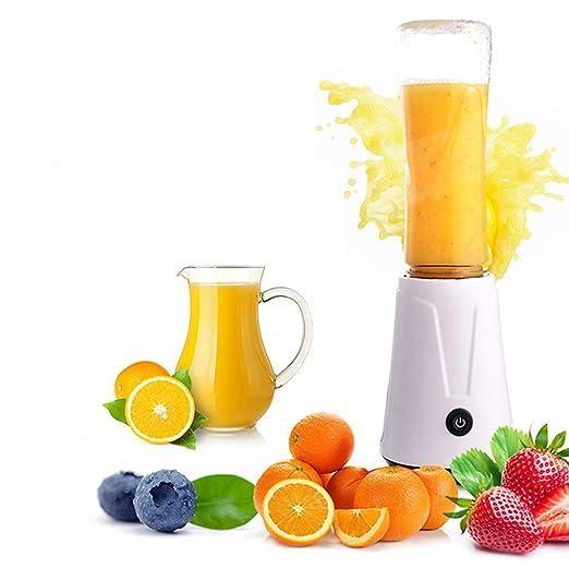 Exprimidor eléctrico portable 600ML Licuadora fruta bebé Mezclador ...