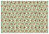Briday Wrapping Paper - Coin Pattern Green Pack of 2