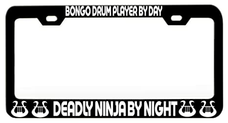 Amazon.com: Custom Brother - BONGO DRUM PLAYER BY DAY DEADLY ...