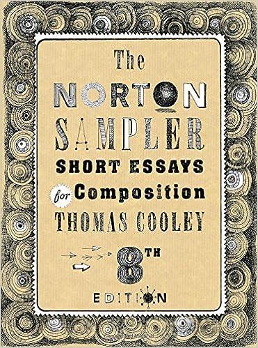 8th edition the norton sampler