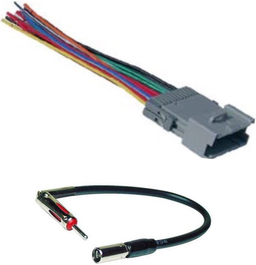 Chevy Metro 2000-2001 Factory Stereo to Aftermarket Radio Harness Adapter Plug
