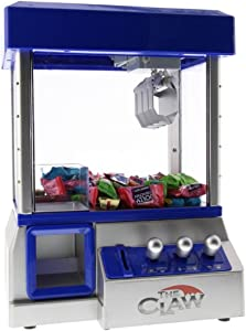 TV Trends Mini Claw Machine for Kids – The Claw Toy Grabber Machine is Ideal for Children and Parties, Fill with Small Toys and Candy – Claw Machines Feature LED Lights, Loud Sound Effects and Coins