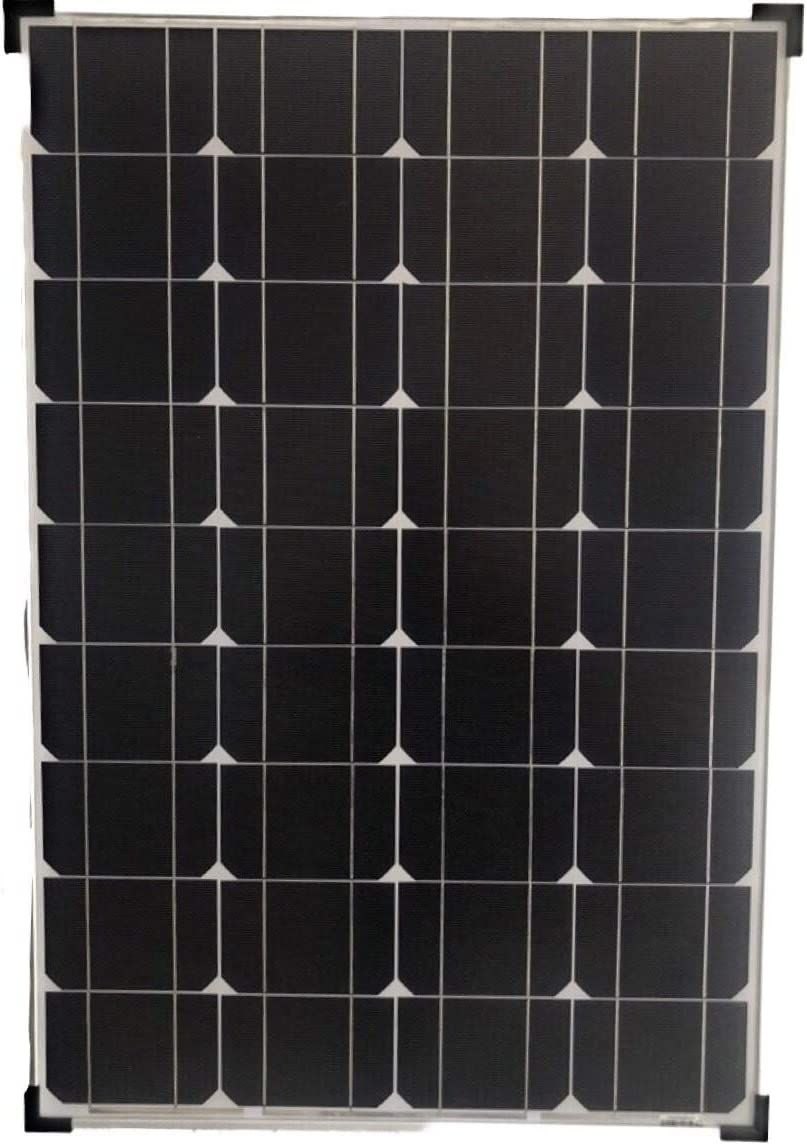 EC 80 Watt Monocrystalline 80W 12V Solar Panel High Efficiency Poly Module RV Marine Boat Off Grid 60 watt Pri