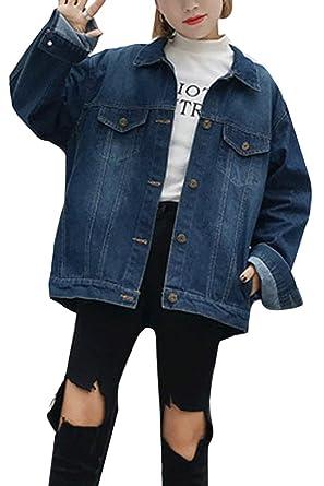 Boyfriend Jeans Jacke Damen Günstig Mit Buchstaben