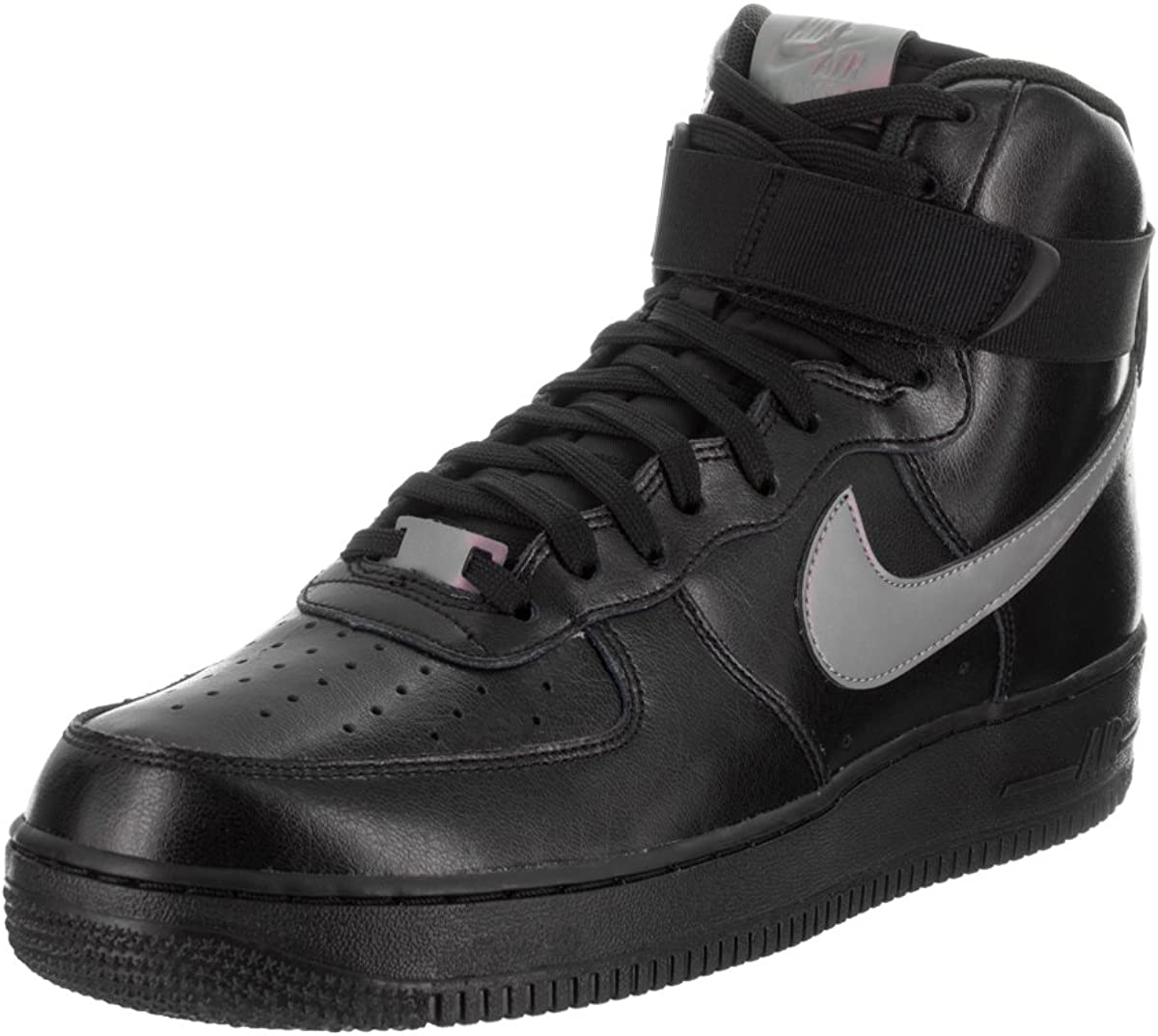 [ナイキ] AIR FORCE 1 HIGH '07 LV8 806403-601 黒/Multi-color-黒 11 D(M) US