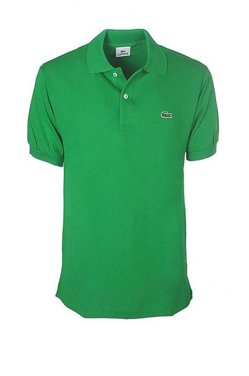 Lacoste - Polo - para Hombre, Verde, 4/Medium: Amazon.es: Deportes ...