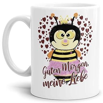 Amazonde Liebes Tasse Mit Spruchguten Morgen Meine Liebe