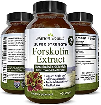 Max Strength Forskolin Weight Loss Supplement For Men And Women Fast Acting Diet Pills Natural Appetite Suppressant Potent Fat Burner Builds Muscle
