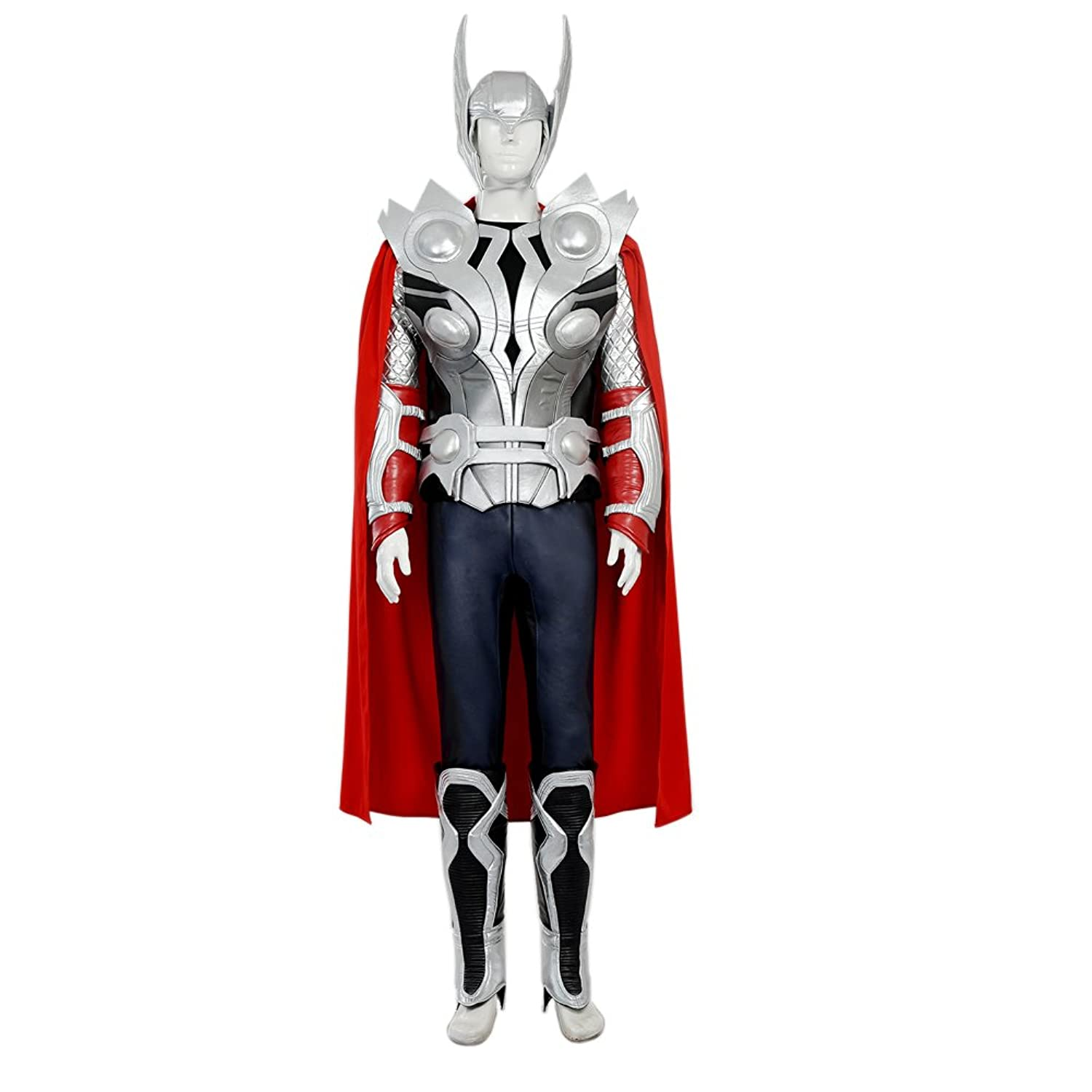 Mens Avengers Age of Ultron Thor Cosplay Deluxe Costume Outfit