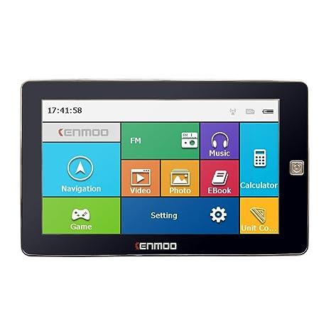 cenmoo HD de 7 pulgadas GPS coche navegación 800 M/FM/8GB/DDR3 ...