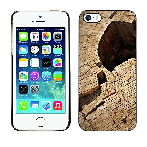Premio Sottile Slim Cassa Custodia Case Cover Shell // F00013163 bois // Apple iPhone 5 5S 5G