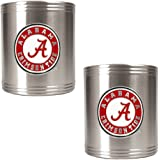 NCAA Two Piece Stainless Steel Can Holder Set