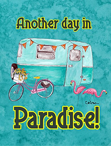 Caroline's Treasures 8758CHF Another Day in Paradise Flag Canvas, Large, Multicolor Review