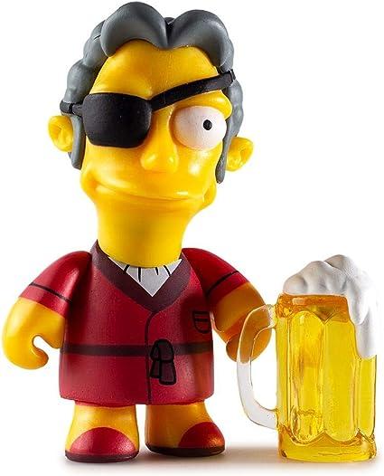 "Kidrobot Simpsons-Moe /'s Tavern Series /""CARL/"" 2018"