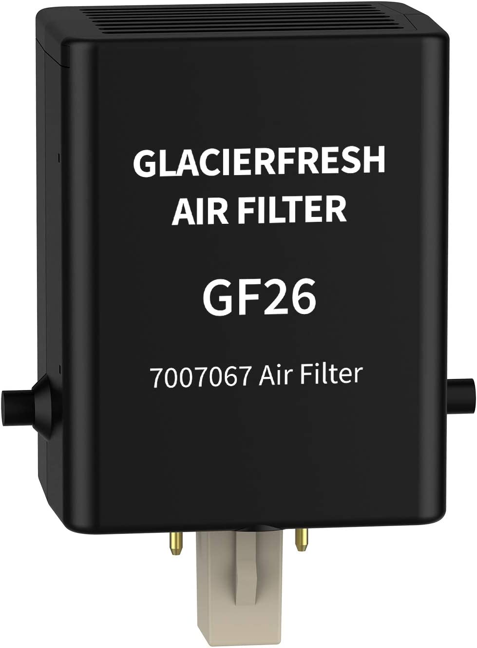 GLACIER FRESH 7007067 Air Purification Cartridge, Air Filter Replacement For Refrigerator 7007076 Air Filter (1 Pack)