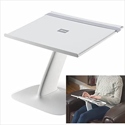 Portable Laptop Stand For Desk And Car. A Creative Space Saving Ergonomic  Adjustable Laptop Computer