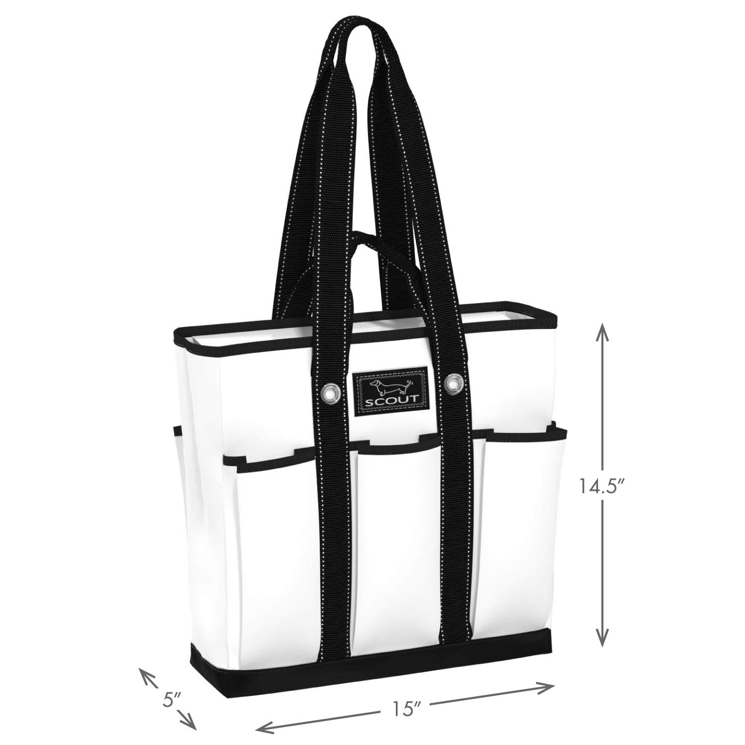 43b4096a65a6 SCOUT Pocket Rocket, Large Tote Bag for Women with 6 Exterior Pockets and  Interior Zippered Compartment, Perfect Utility Tote Bag with Pockets for ...
