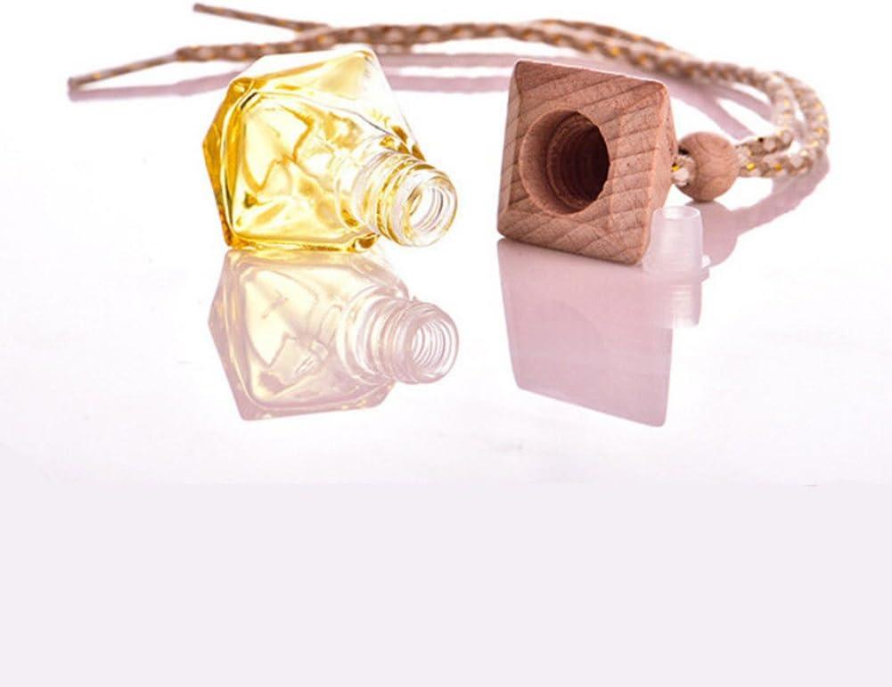 Auto Parfüm Flasche Zum Aufhängen Parfüm Duft Leer Nachfüllbar Flasche Home Auto Lufterfrischer Luftreiniger Hängende Dekoration Ornament Kfz Innenraum Zufällige Drogerie Körperpflege
