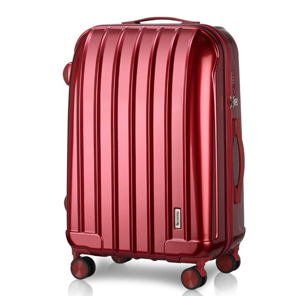 Beautiful Mirror Mute Universal Wheel 2 Colors And 2 Sizes Trav Aluminum Alloy Pull Rod Fashion Shell Type Mei Xu Luggage Sets Pull Rod Box Suitable For Travel And Short Trip TSA Password Lock