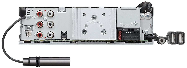 Radio para Coche Kenwood Electronics KDC-X7200DAB Bluetooth Negro Receptor Multimedia para Coche Negro, 1 DIN, CD,CD-R,CD-RW, 20-20000 Hz, 105 dB, Giratorio