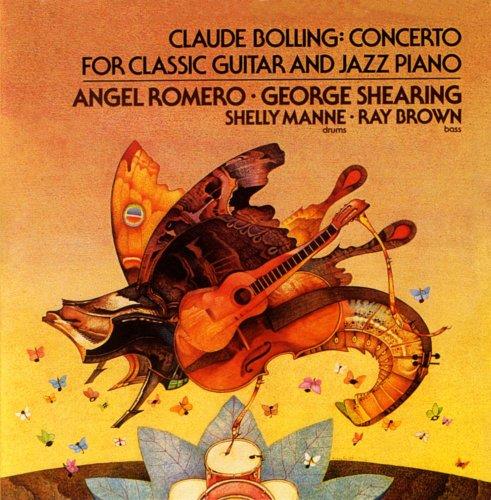 Bolling: Concerto for Classical Guitar & Jazz Piano / Romero (Album Piano Cd Concertos)