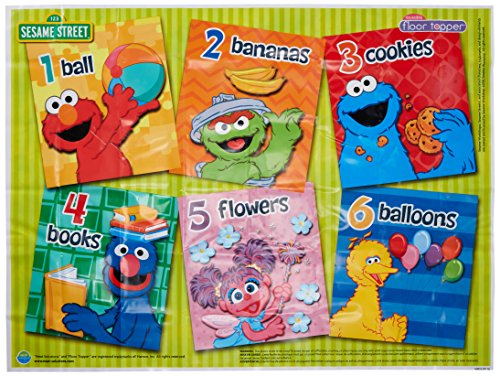 - Sesame Street Table Topper Disposable Meal and Play Mat
