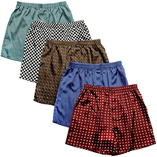 Silk Boxer Shorts For Men - 4