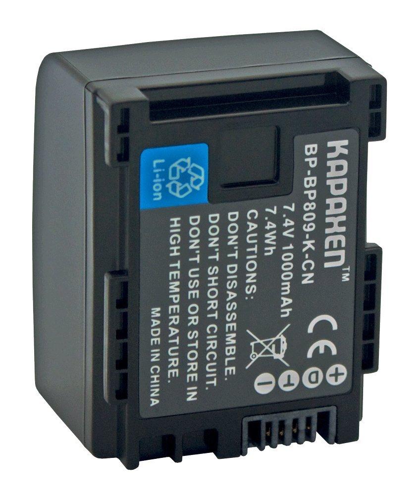 Batería para canon LEGRIA HF s-100 s200 HF s10 HD info chip