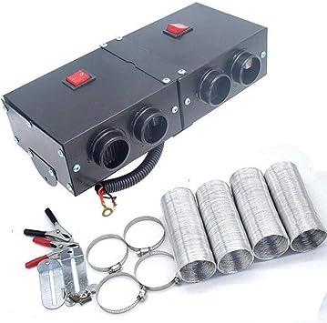 Fan Heater Defroster Demister Hot Heating Warmer Windscreen 12V 800W Car Vehicle